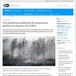 Um problema ambiental de proporções globais às vésperas da COP21