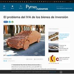 El problema del IVA de los bienes de inversión