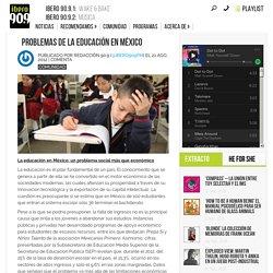 Problemas de la educación en México