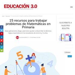 Problemas de Matemáticas; 10 recursos para trabajar en Primaria