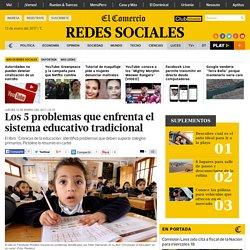 Facebook: los 5 problemas que enfrenta el sistema educativo tradicional