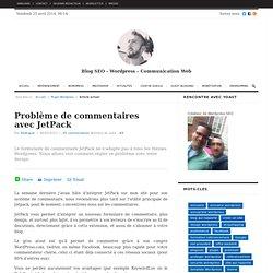 Problème de commentaires avec JetPack