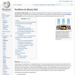 Problème de Monty Hall