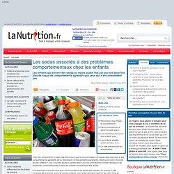 Les sodas associés à des problèmes comportementaux chez les enfants