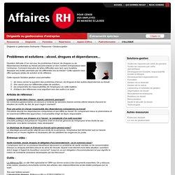 Problèmes et solutions : alcool, drogues et dépendances... (72777)