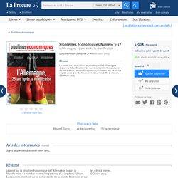 Problèmes économiques, Livres, LaProcure.com