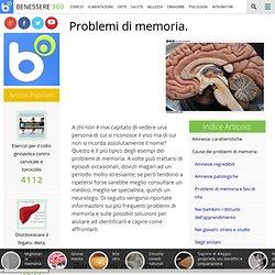Problemi di memoria