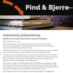 Problemløsning / Lovport – Pind og Bjerre