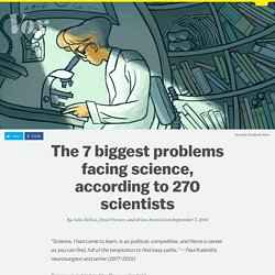The 7 biggest problems facing science, according to 270 scientists