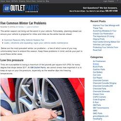 Five Common Winter Car Problems