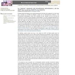 """La """"viejoven"""" regulación del procedimiento administrativo y de las AAPP (las nuevas ley 39/2015 y ley 40/2015)"""