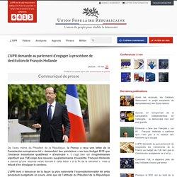 La procédure de destitution de François Hollande