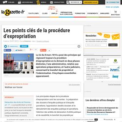 Les points clés de la procédure d'expropriation