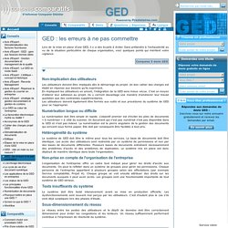 procédure gestion documentaire - outils ged