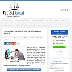 La procédure de plainte pour harcèlement sur internet
