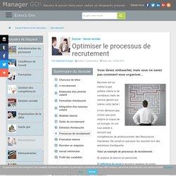 Procédure et processus de recrutement, sélection d'articles