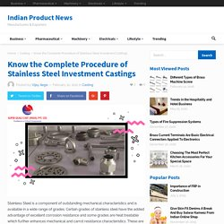 Complete guide to stainless steel application & benefits
