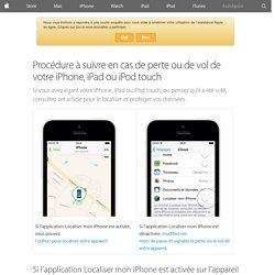 [iOS] Effacer les données