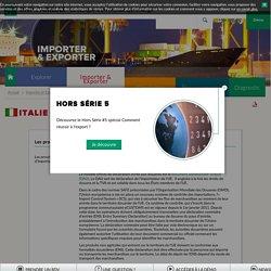 Les procédures douanières en Italie - TRADE Solutions BNPParibas
