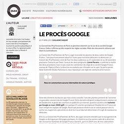 [2011] Google se fait indexer aux Prud'hommes