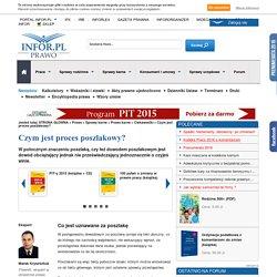Czym jest proces poszlakowy? - Ciekawostki - Prawo karne - Infor.pl