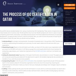 The Process of ISO Certification in Qatar - Aegis Services