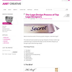Logo Design Process of Top Graphic Designers