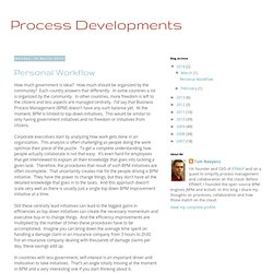 BPM - Process Developments
