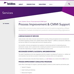 Process Improvement & CMMI Support