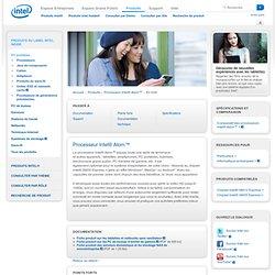 Processeur Intel® Atom™: en bref