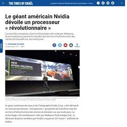 """Le géant américain Nvidia dévoile un processeur """"révolutionnaire"""""""