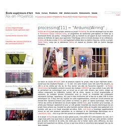 "processing[11] = ""Arduino"