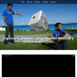 luiscript » Software developer and trainer