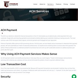 Ach Payment Processing Companies