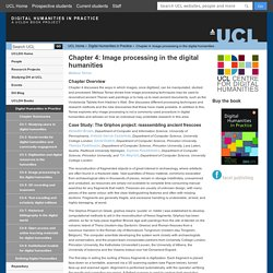 Chapter 4: Image processing in the digital humanities