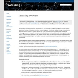 Processing Overview