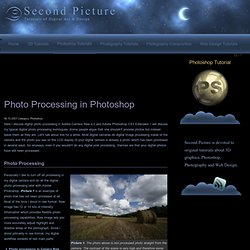 Photo Processing in Photoshop and Camera Raw