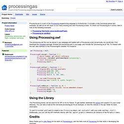 processingas - Google Code