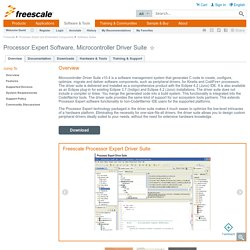 Processor Expert Software, Microcontroller Dr