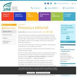 Processus éditorial