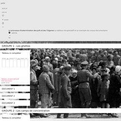 Le processus d'extermination des Juifs et des Tziganes
