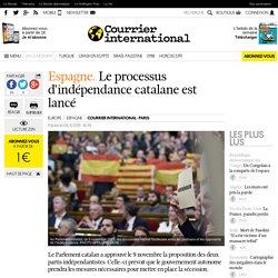 Espagne. Le processus d'indépendance catalane est lancé