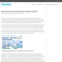 Quel processus d'innovation idéal à 2020 ?