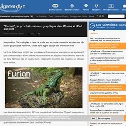 """""""Furian"""", le prochain moteur graphique des iPhone et iPad est prêt"""