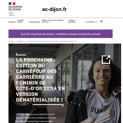La prochaine édition du Carrefour des Carrières au Féminin de Côte-d'Or sera en version dématérialisée !