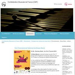 Championnat de France de Brass Band à Lille