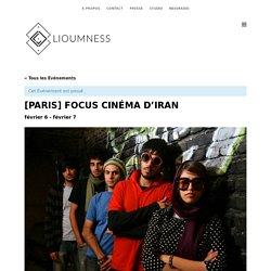 [PARIS] FOCUS CINÉMA D'IRAN