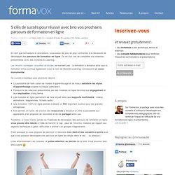 Interactivité, Communication, Apprentissage multimédiaFormaVox - Agence Formation & Conseil