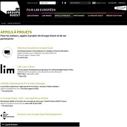 Les prochains appels à projets pour scénaristes et auteurs de cinéma