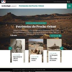 Proche-Orient patrimoine étranger_ministère de la culture et de la communication